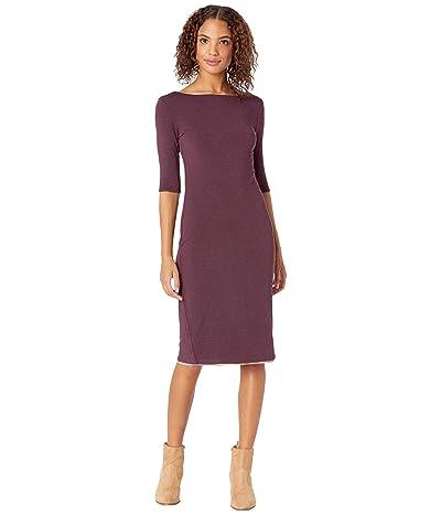 Prana Johan Foundation Dress (Raisin Heather) Women