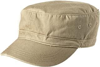 distressed military cap