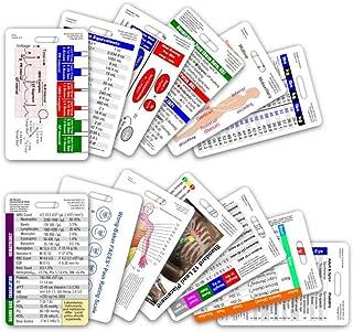 Complete Nurse RN CNA NA Vertical Badge Card Set - 13 Cards