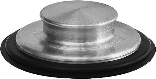 3 3/8 inch (8.57Cm) - Kitchen Sink Stopper Stainless Steel Garbage Disposal Plug Fits Standard Kitchen Drain size of ...