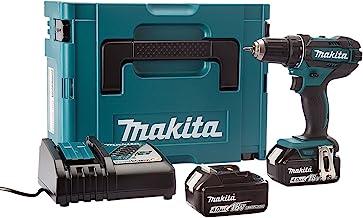 Makita DDF482RMJ Taladro Combinado 2x18V 4Ah Li-ion + maletin Makpac