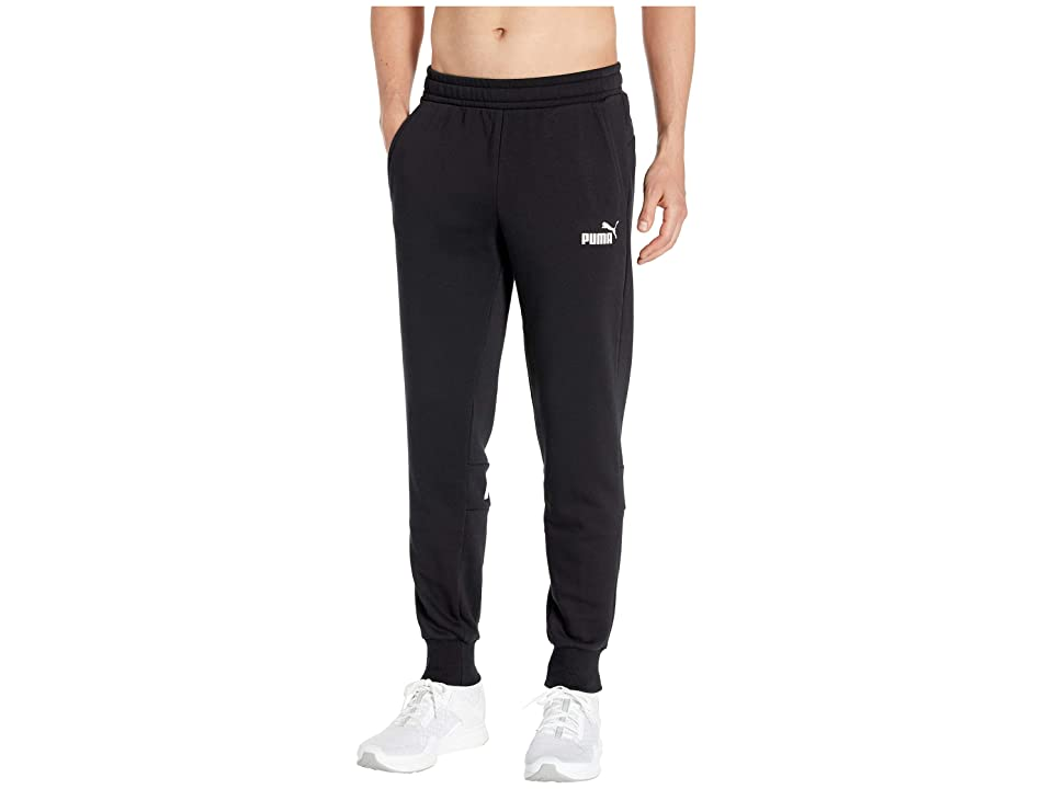 PUMA Amplified Sweat Pants TR (Cotton Black) Men