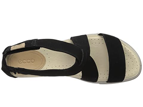 Damara Gris Sandale Leatherwhite Noire Occasionnel Métallique Vache Nubuckombre Ecco nFqSI5