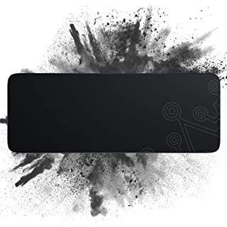 Dierya Gaming Mouse Pad, Large Durable Suitable Size Glowing Mousepad, Non-Slip Rubber Base Computer Soft Keyboard Pad Mat...