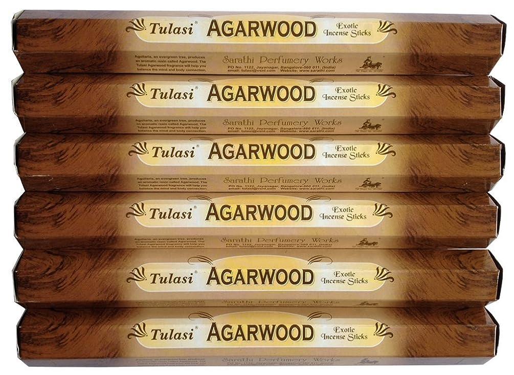 切る印象的不運トゥラシ アガーウッド 6個セット
