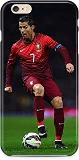 Hard Case Cover with Ronaldo Cristiano, CR7, Professional Football Player Design Compatible with iPhone 5 5s SE (ron3)