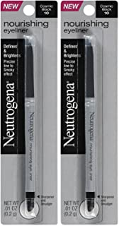 Neutrogena Nourishing Eye Liner, Cosmic Black [10], 0.01 oz (Pack of 2)