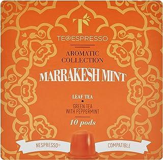 Teespressa Marrakesh Mint Tea from Italy (10 Capsules) , Tea Capsules , Fresh Mint