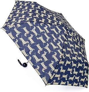 Drizzles Womens/Ladies Dachshund Dog Compact Umbrella (UK Size: One Size) (Dark Blue)
