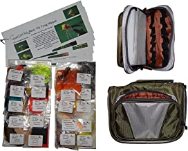 Cascade Bass/Panfish Fly Tying Material Kit with Essentials Tying Materials Bag
