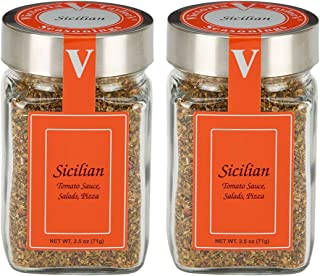 Sicilian- Two 2.5 oz. Jars -Use in red sauce, pizza, soup, and pasta.