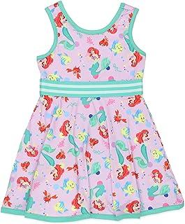Disney Princess Toddler Girls Fit and Flare Ultra Soft Dress