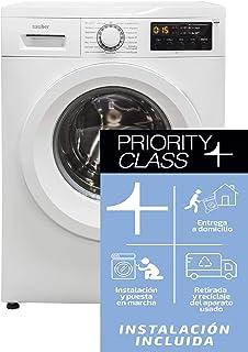 comprar comparacion Sauber - Lavadora de carga frontal WM612-6 kg - 1200 RPM - Eficiencia energética: A+++ - Color Blanco - INSTALACIÓN INCLUIDA