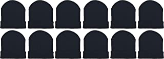 Kids Winter Beanies, 12 Pack Warm Cold Weather Hats Boys...