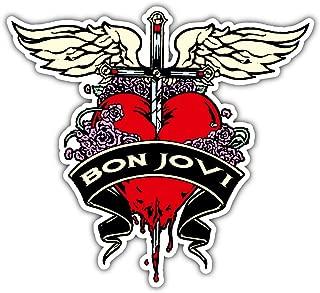 Music Bon Jovi Sticker Car Bumper Decal 5'' X 4''