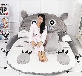Plysch Totoro sovsäck Plysch Totoro sovsäck Barnmadrass mjuk tjock, tecknad Totoro Tatami Lazy plysch sovdyna Söt sovsäck ...