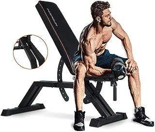 Best home weight bench set Reviews