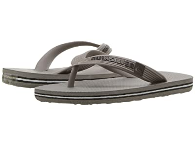 Quiksilver Kids Molokai Youth (Toddler/Little Kid/Big Kid) (Grey/Grey/Grey) Boys Shoes