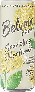 Belvoir Sparkling Elderflower Juice Cans, 250 ml (Pack of 4),4083/64C