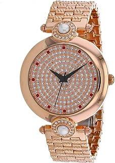 Christian Van Sant Women's Quartz Stainless Steel Strap, Rose Gold, 18 Casual Watch (Model: CV0021)