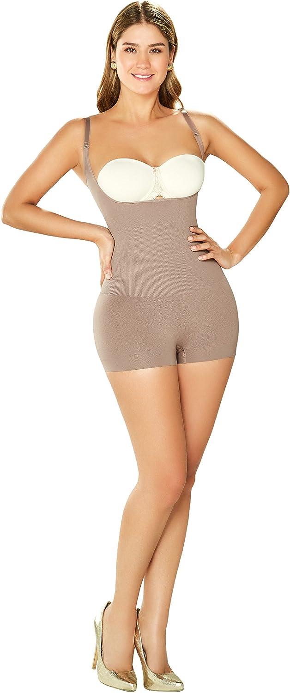 DIANE & GEORDI DJ10L4 Shapewear Bodysuit Short for Women   Fajas Colombianas