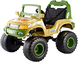 Electric Ride-On 4×4 Car for Kids - Multi Color