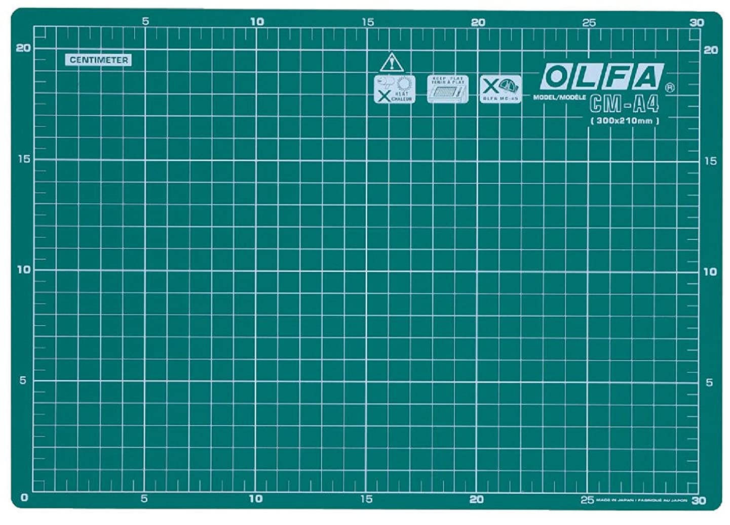 Olfa CM-A4 Self Healing Double Sided Multi-Purpose Cutting Mat by Olfa ypogmeknxszq