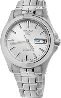 Men's SNKK87 Two Tone Stainless Steel Analog with White Dial Watch