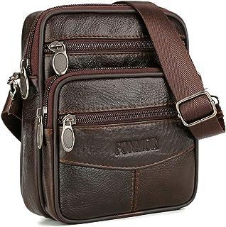 Bageek Men's Messenger Bag Phone Bag Waist Bag Multipurpose Single Shoulder Bag
