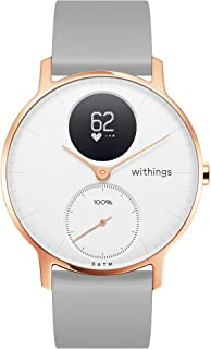 / Nokia | Steel HR Hybrid Smartwatch - Activity Tracker with Connected GPS, Heart Rate Monitor, Sleep Monitor, Water Resistant Smart Watch with 25-day battery life (Renewed)