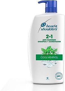 Head & Shoulders , Anti Dandruff Shampoo + Conditioner, Cool Menthol , 1 L