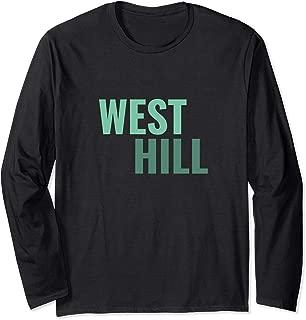 West Hill Toronto Neighbourhoods Long Sleeve T-Shirt