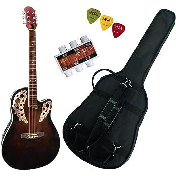 Guitare /Électro-Acoustique Roundback par Gear4music