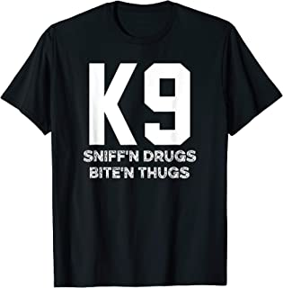 K9 Police Shirt for LEO Cops FBI Sheriff K-9 Unit
