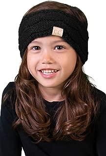 Kids Baby Toddler Knit Fuzzy Lined Head Wrap Headband Ear Warmer