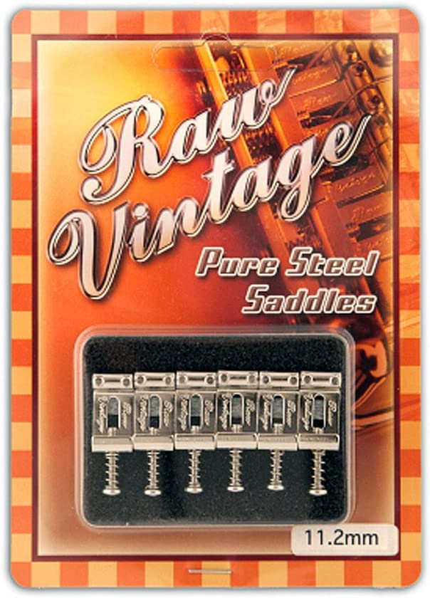 Steel saddles Raw Vintage Recommendation type Fender USA sale
