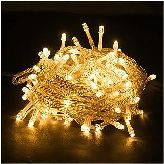 ASKLKD LED chaîne 8 Modes 10M-200M Guirlande Lumineuse étanche intérieur et extérieur Jardin Terrasse/Home Chambre Fournit...