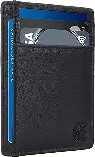 comprar comparacion Cartera Delgada con Bloqueo de identificación por Radio frecuencia (RFID), Tarjetero Minimalista para Tarjetas de crédito,...