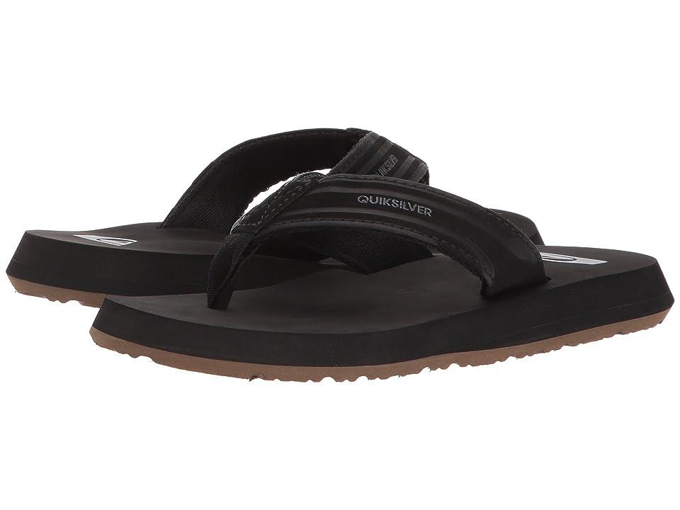 Quiksilver Kids Monkey Wrench (Toddler/Little Kid/Big Kid) (Black/Black/Brown) Boys Shoes