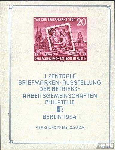 punto de venta Prophila Collection DDR (RDA) Block10X Block10X Block10X I (Completa.edición.) examinado, matasellado de Primer día 1954 exposicion de Sellos (Sellos para los coleccionistas) Sello en Sello  el estilo clásico