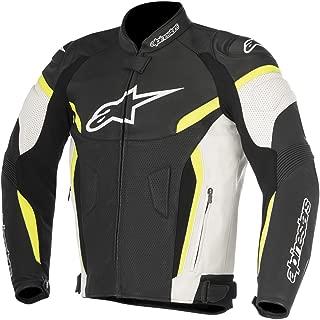 Alpinestars GP Plus R v2 Mens Airflow Leather Jacket Black/Yellow 56 EUR