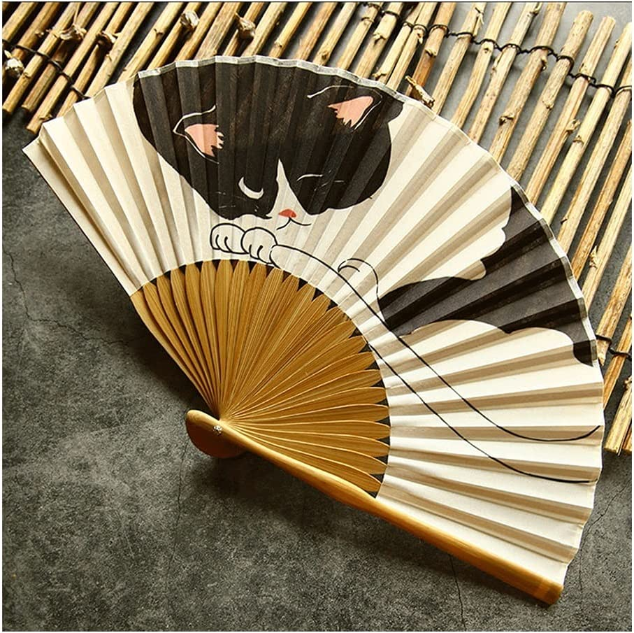 All 40% OFF Cheap Sale stores are sold Folding Fan Silk Hand Bamboo Heat Summer