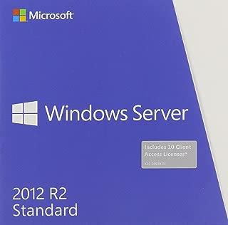 Microsoft Windows Server Standard 2012 R2 64 Bit English DVD 10 Clt
