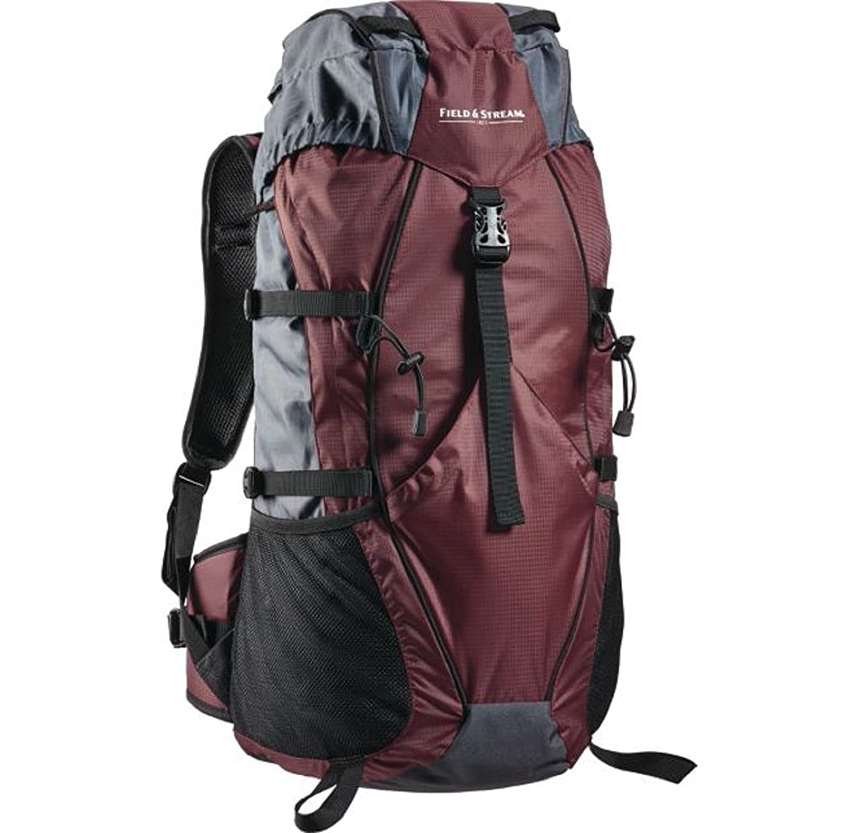 Mountain Scout 45L Internal Frame Pack Large, top-load compartment, Bitter Chocolate