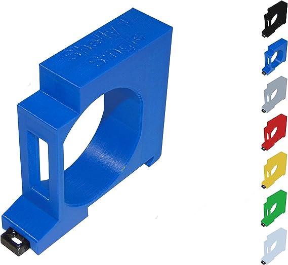10x Shelly 1 Hutschienenhalter Adapter 35mm 1PM DIN Rail  Schwarz 3d Druck