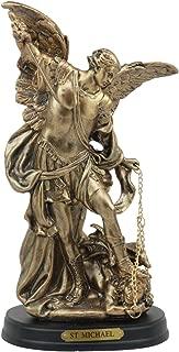 Ebros Byzantine Catholic Church Archangel Michael Slaying Chained Lucifer Statue 8