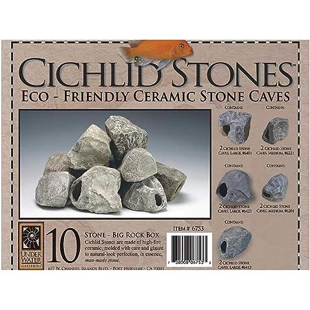 Underwater Galleries Cichlid Stone Large Boulder