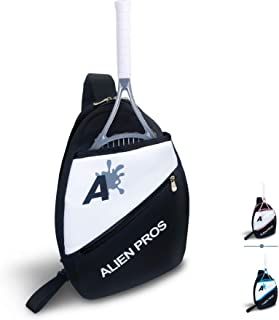 Alien Pros Lightweight Tennis Sling Backpack for Your Racket and Other Essentials - Pack Quickly and Lightly for Tennis an...