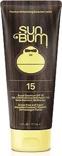 Sun Bum Original Moisturizing Sunscreen Lotion, SPF 15, 6 oz. Tube, 1 Count, Broad Spectrum UVA/UVB Protection, Hypoallerg...