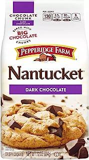 Pepperidge Farm Nantucket Dark Chocolate Chunk Cookies, 204g